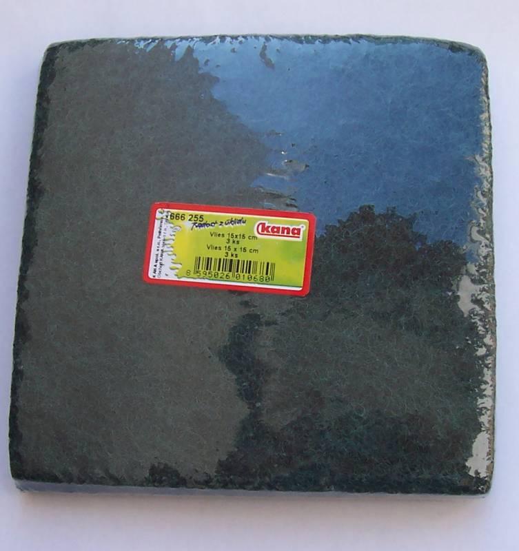 Vlies - balený 3ks, 15x15 cm