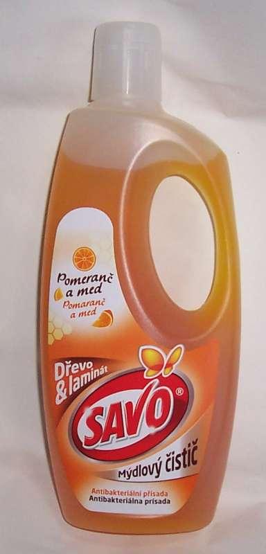 Savo mýdlový čistič 750ml na dřevo Bochemie