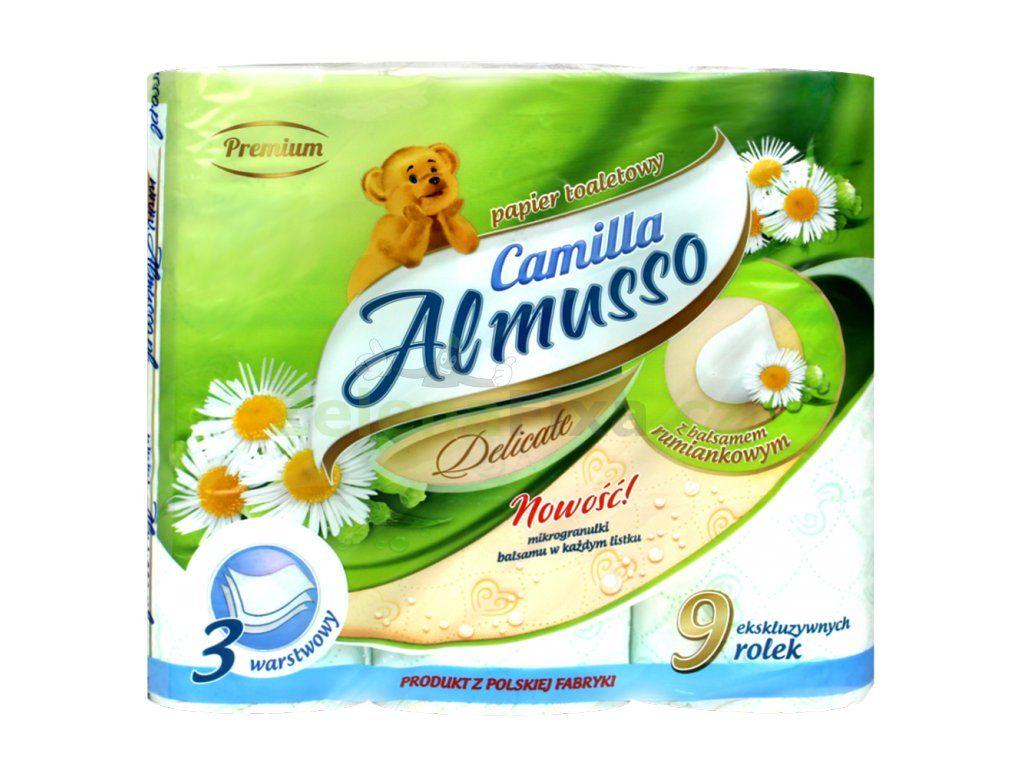 Camilla 9x16m.3vr.cel.toaletní papír