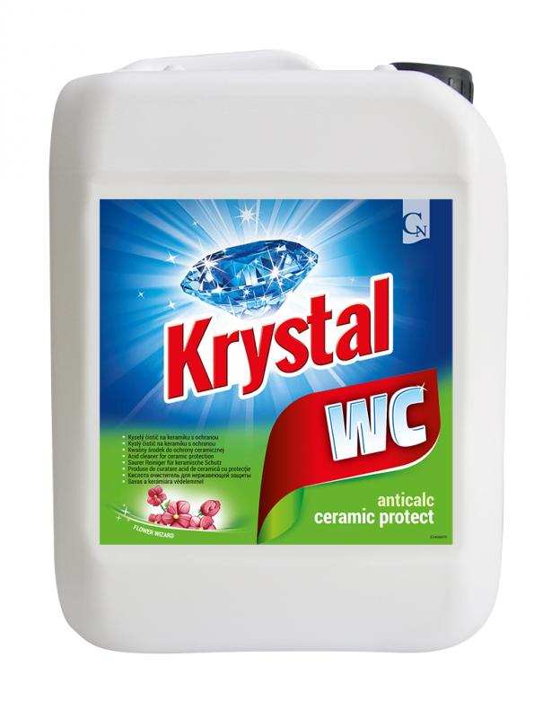 Krystal WC zel.5l čistič ANTIBAKTERIÁLNÍ CORMEN