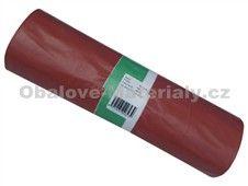 Pytle 120l 15ks červené TYP 80 LDPE