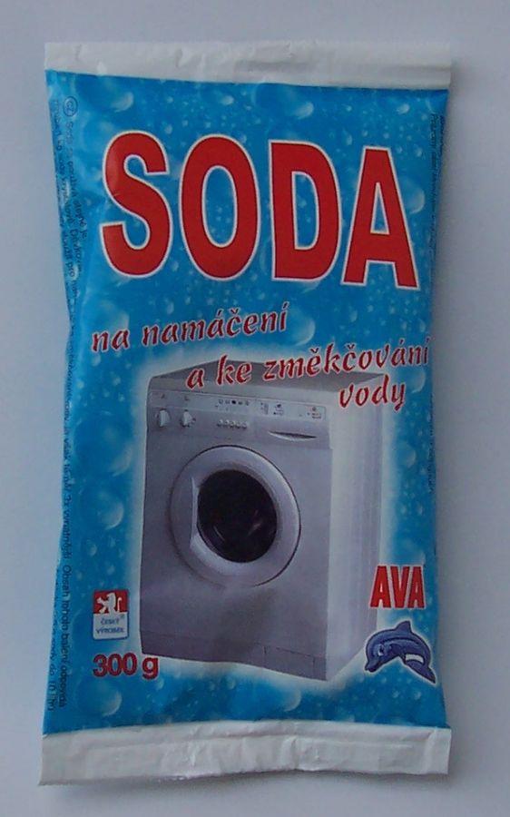 Soda300g jemná na změkčení vody