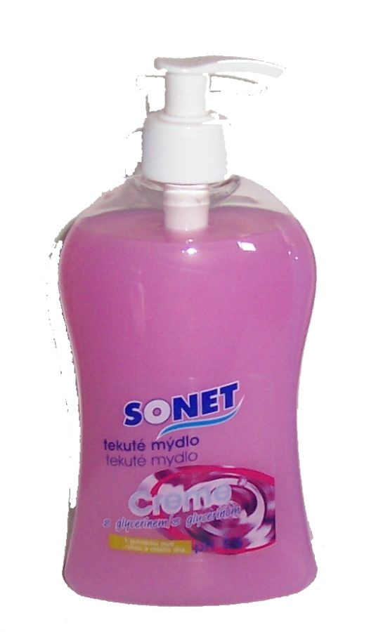Sonet mýdlo růž.dávk.500ml Ph 5,5 benaSONET
