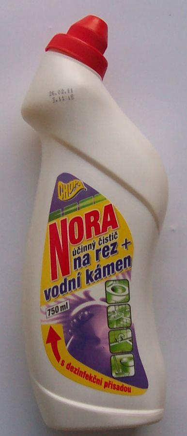 Nora 750ml čistič van,WC,podlah aj. CHOPA spol. s r.o.