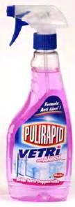 Pulirapid rozp.500ml-okna alkohol MADEL