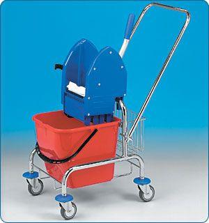 CLAROL 1x17l (cena bez košíků) vozík