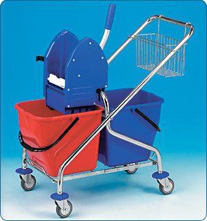 REKORD 2x17l (bez košíků) vozík sklapova