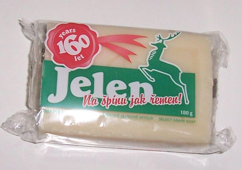 180g Jádrové mýdlo JELEN