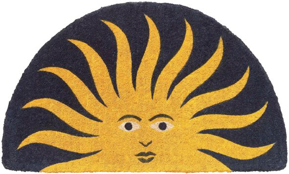 45x75cm Rohožka Kokos-slunce (kok./sisal