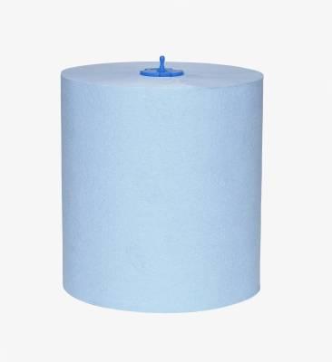 Papír.utěrka role H1 2vr.modrá 19cm 150m TORK