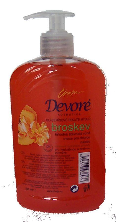 Mýdlo BROSKEV červ.500ml pumpa CHOPA spol. s r.o.