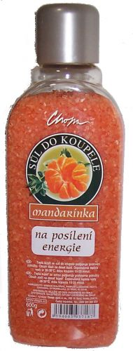 Koupelová sůl-oranž.600g MANDARINKA CHOPA spol. s r.o.